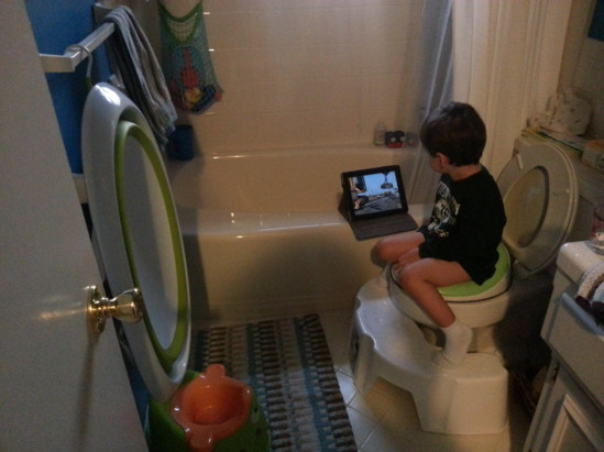 So, is he potty trained yet?